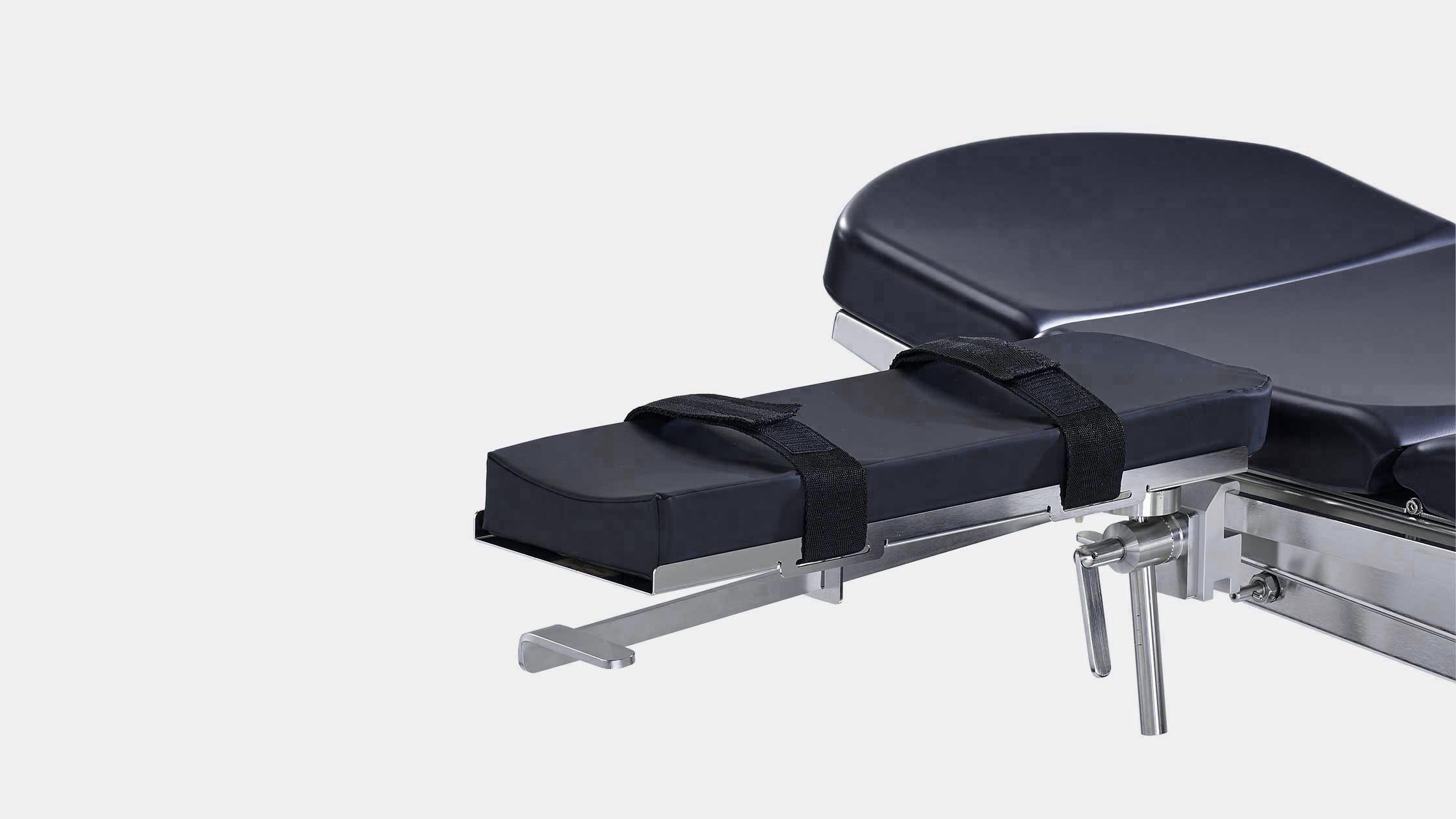 armauflage mit einhandbedienung und komfort-polster
