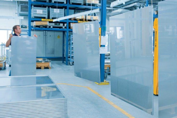 Produktion modulare Wände
