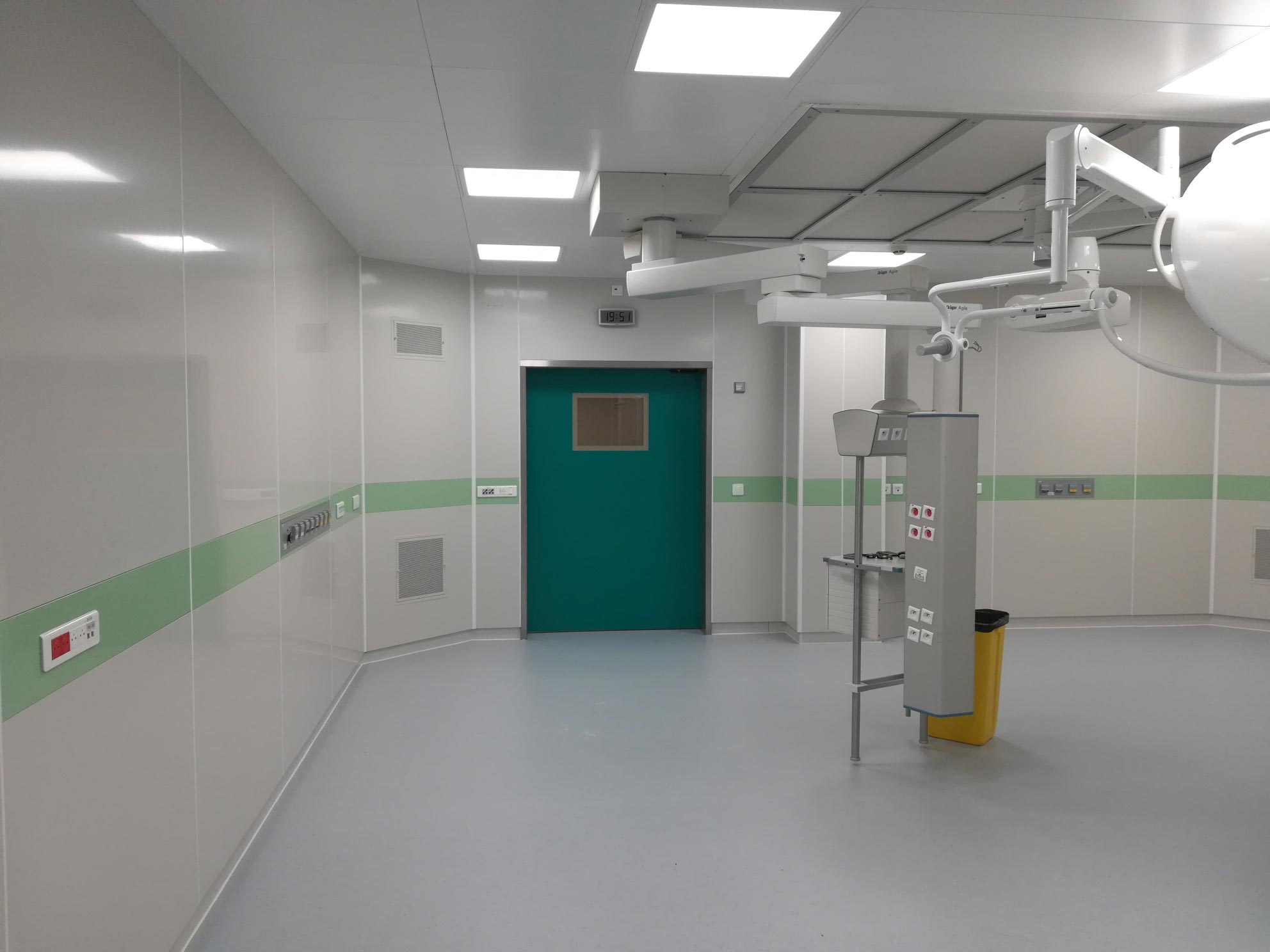 Referenz modulares Raumsystem Frankreich- Centre Hospitalier- Brive