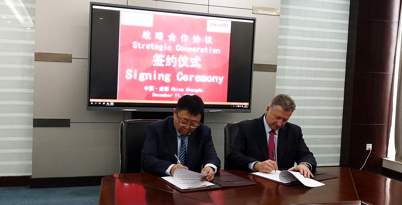 medifa and Gangtong Medical decide on strategic partnership for China