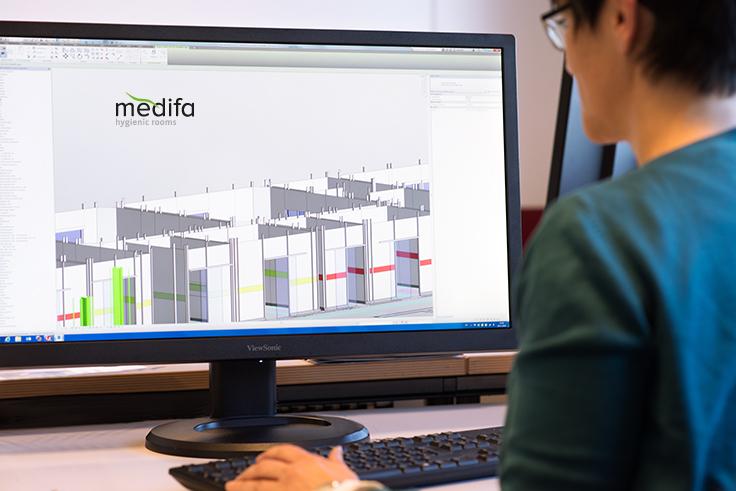 3D planning modular room system