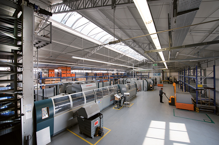 Production modular walls