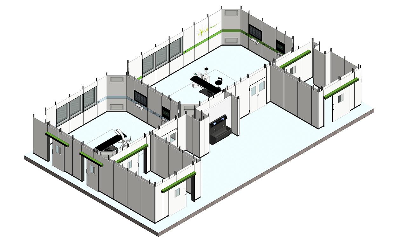 modulares Raumsystem